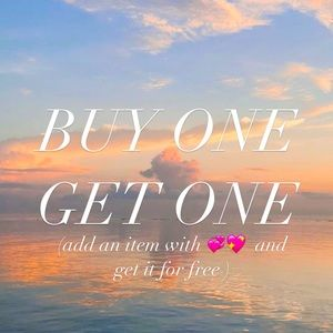 BUY ONE GET ONE SALE